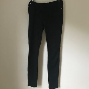 7 For All Mankind Black Maternity Jeggings - 28